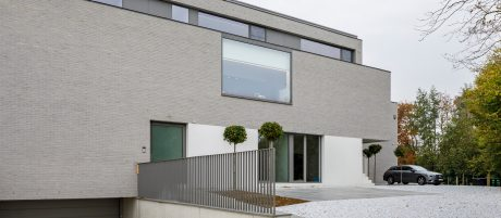 Reference photo new construction multi family in Aalst